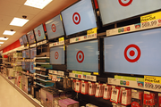 The electronics department at Portland's new CityTarget, which opens today.