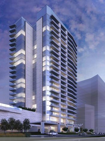 Luxury Condo Tower Within Plano S 2b Legacy West