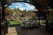 Elite Development Northwest LLC included an expansive outdoor area at Cuvee, its 2013 Street of Dreams entry.