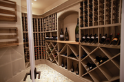 TTM Development Co. packed an ample wine room into its Two Thousand Thirteen home.