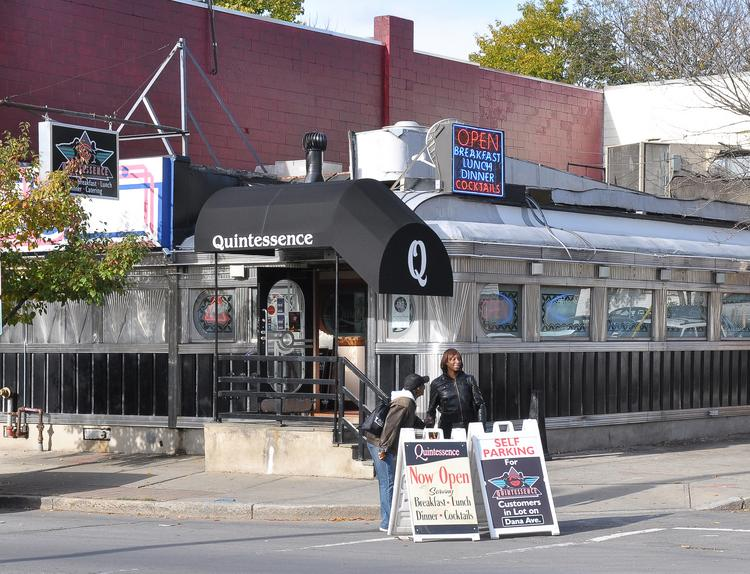 The diner on New Scotland Avenue in Albany, NY, operated as Quintessence since the early 1980s.
