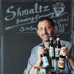 Serious about the beer — and the schtick