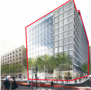 Quadrangle Development Corp. wants to tear down 1301 Pennsylvania Ave. NW in order to develop a new, 1.4 million-square-foot building.