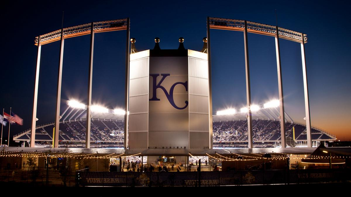 Kansas City Royals Kauffman Stadium