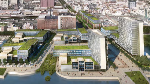 Property Development In Philly : Delaware river waterfront corp selects jefferson