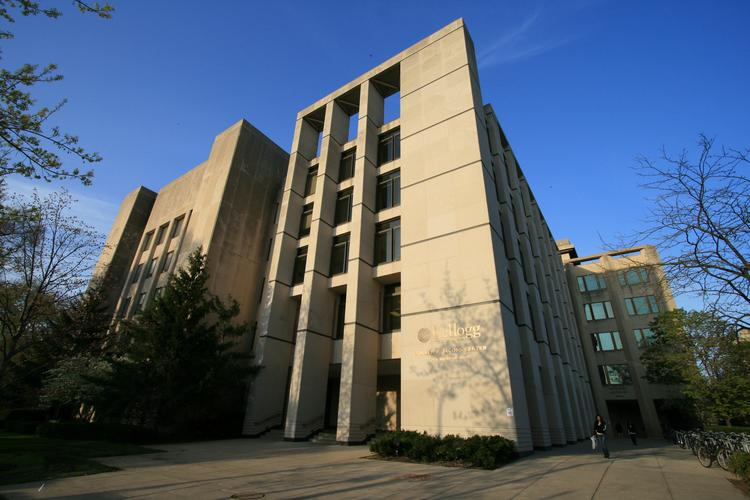 The Jacobs Center currently houses the Kellogg School of Management's full-time MBA program at Northwestern University's Evanston campus.
