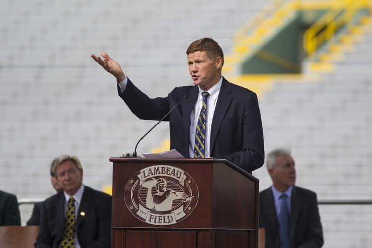 Green Bay Packers CEO Mark Murphy