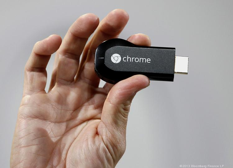 Google Inc.'s new ChromeCast could help the company take on Apple TV.