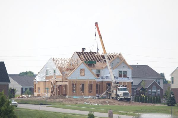 Through May, the number of building permits for single-family homes in Butler County is up 29 percent over last year.