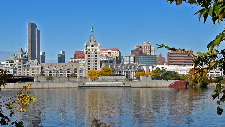Albany has lost ground when it comes to small business vitality due to a stagnant population and poor private-sector job growth.