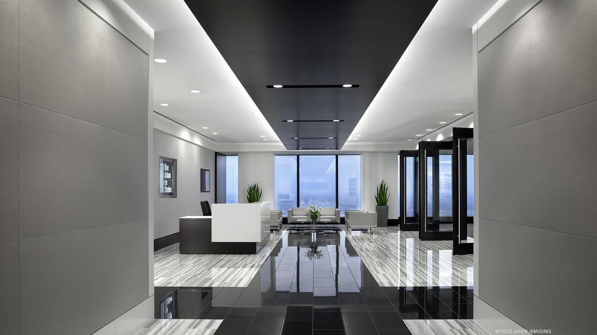 Abel Design Group S Ken Harry Simona Furini Talk Changes In Law Office Design Houston Business Journal