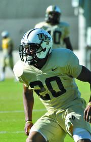 UCF's football team will play in the Fiesta Bowl on New Year's Day.