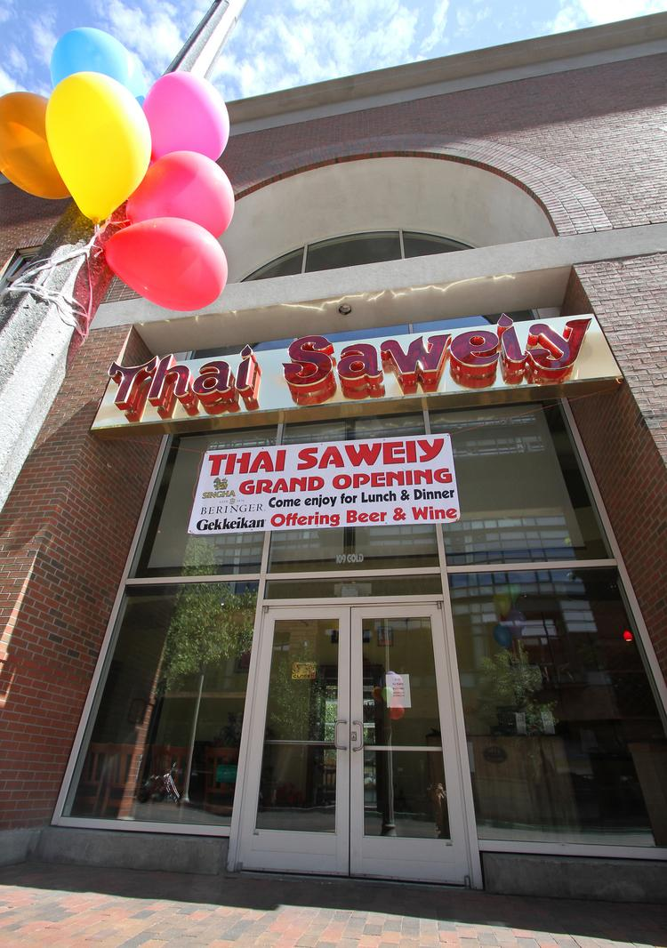 Downtown Albuquerque's Thai Crystal closed its doors about a week ago in preparation for a relaunch under the new name Thai Saweiy. Owner Kathy Punya said she has hired a new chef and has changed some menu items.
