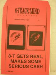 "Russ Forster's 8-Track Mind explored the sound quality, technical aspects and psyche behind the collectors of eight-track tapes. It's a brilliant single-topic 'zine made even better by its form which comes in the shape of an eight-track. You can almost hear the ""click click click"" between the tracks as you turn the pages."