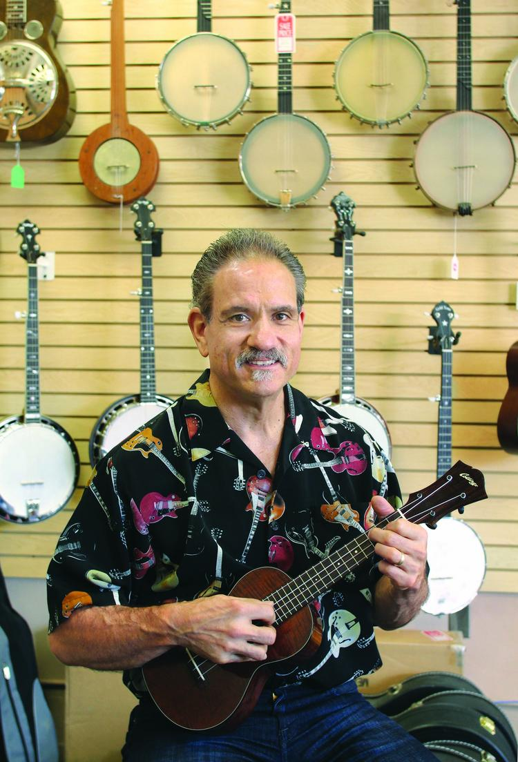 Steve Miklas is the owner of Acoustic Music Works, a Squirrel Hill shop specializing in high-end guitars, banjos, mandolins, ukuleles and other fine acoustic instruments.