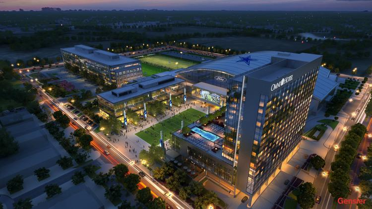 The new Omni hotel at The Star in Frisco will be a cornerstone to the 90-acre development in Frisco.