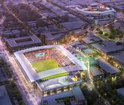 The stadium would be financed by the team, but the city would provide the land through a complex land swap with Akridge and acquisition of the Ein and Pepco properties. The city would also provide some infrastructure costs.