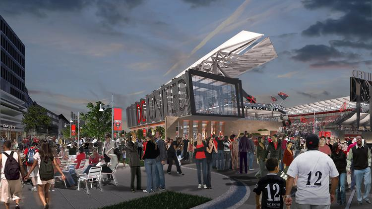Mayor Vincent Gray announced last July the District would join forces with D.C. United to build a soccer stadium with 20,000 to 25,000 seats in Southwest at Buzzard Point. Now, the pen is nearing the paper and the many issues that were identified the moment the announcement was made are being resolved.
