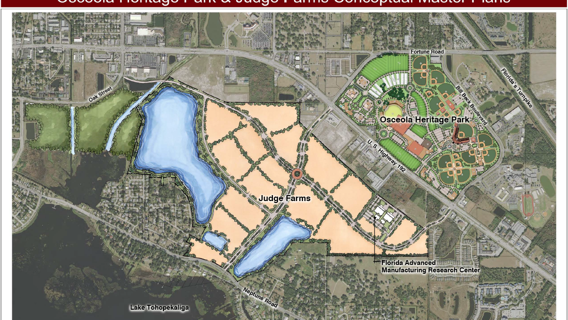 Florida Tech Map.Perkins Will Maps Out Plans For Osceola Tech Campus Design