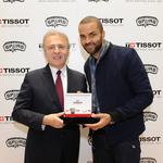 NBA Spurs strike timely deal with Swiss company
