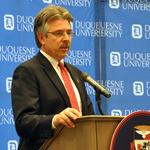 <strong>Gormley</strong> looking to put Duquesne on global stage