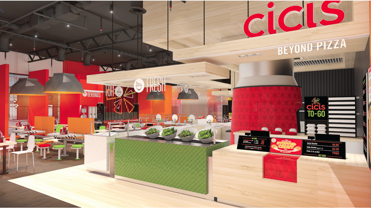 Cicis Beyond Pizza Drops From Name Adds Contemporary Design To Restaurants