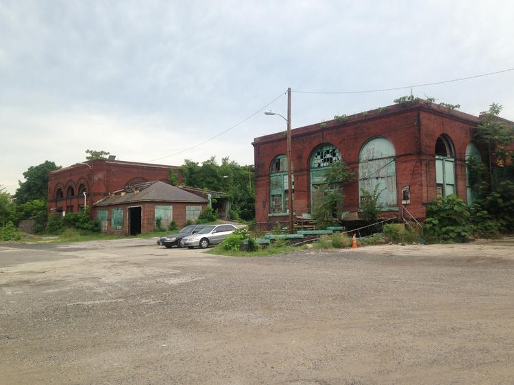 The site at 1801 E Oliver St. is slated to become an urban farm.