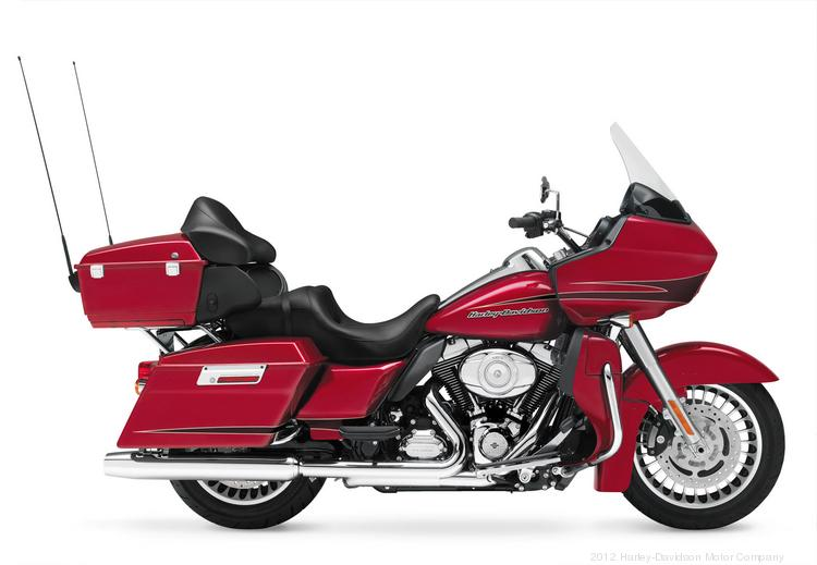 The 2013 Harley-Davidson Road Glide Ultra is part of the motorcycle manufacturer's Touring line.