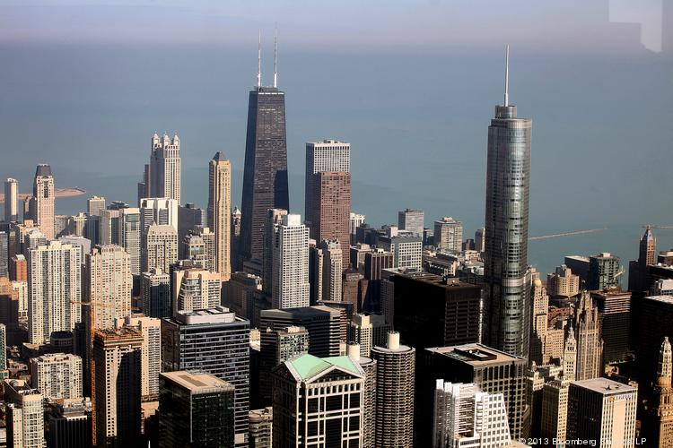 """Funded by the Bloomberg Mayor's Challenge, Carnegie Mellon University and the City of Chicago's Department of Innovation and Technology (DoIT) are currently collaborating to build the """"Chicago SmartData Platform."""" Photographer: Tim Boyle/Bloomberg"""