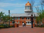 The UNC System encompasses all 16 of the state's public institutions with four-year degree programs, including UNC Charlotte (pictured), as well as the North Carolina School of Science and Mathematics, a residential high school for gifted students.