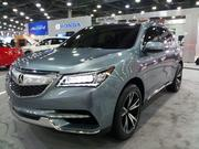 Among the many models on display is Honda's concept for its new Acura MDX.