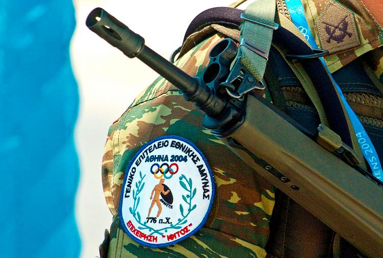SAIC provided a security system for the Athens Summer Olympic Games in 2004 to help prevent a terrorist attack. But the company said Greece used the system without paying.