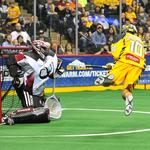 Professional lacrosse teams showcase the sport to youth