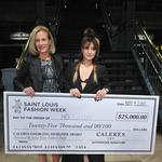 Houghton wins $25,000 prize from Caleres at St. Louis Fashion Week