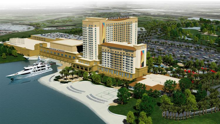 A rendering of the Golden Nugget Lake Charles Casino project. Landry's Inc. plans to invest $600 million in the project.