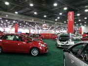 The lineup of Toyota Prius hybrids.