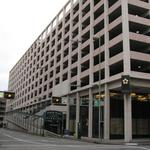 What downtown project is the city of Cincinnati stockpiling TIF money for?