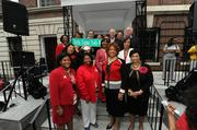 Even the D.C. Council joined in the celebration, declaring the intersection of 17th Street NW and New Hampshire Avenue NW as Delta Sigma Theta Way.