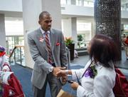 Events D.C. President and CEO Greg O'Dell greeting members of Delta Sigma Theta Sorority Inc.
