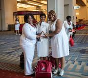 It was hard to miss the crimson-and-cream-clad crowds last week as nearly 40,000 members of the largest African-American women's organization in the U.S., the Delta Sigma Theta sorority, descended on town and the Walter E. Washington Convention Center for their 51st National Convention and centennial celebration.