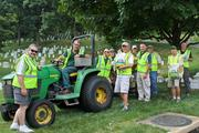 On July 22, members of Herndon-based PLANET, the national landscape industry association, spent the day preserving and enhancing the landscape at Arlington National Cemetery for the 17th annual Renewal & Remembrance beautification project.