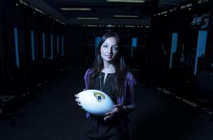 Megha Parekh became the general counsel of the Jacksonville Jaguars on March 1.