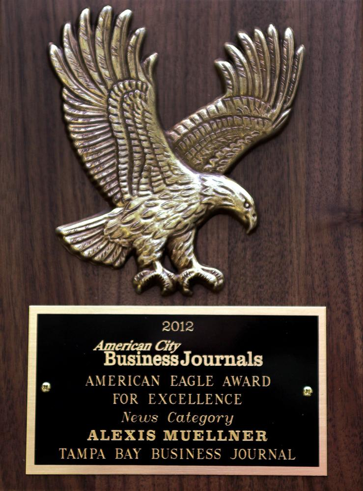 The Eagle Award for Excellence from American City Business Journals