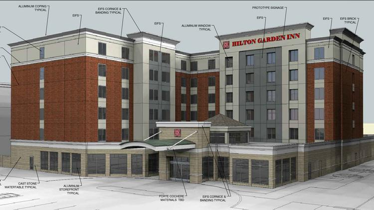 The Hotel At Keystone Parke Will Be A Hilton Garden Inn