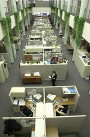 Louisville-based health benefits and wellness company Humana Inc. was among employers that added workers in Louisville during the recession.