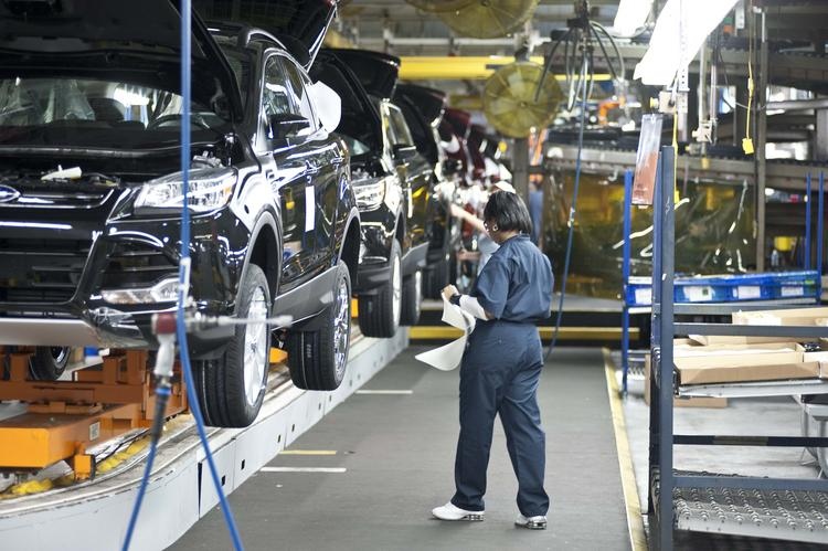 Louisville and other parts of Kentucky have benefited from improved sales for automakers such as Ford Motor Co., which has invested heavily in the Louisville Assembly Plant and production of its popular Escape compact SUV. Click here to see more photos of the plant.