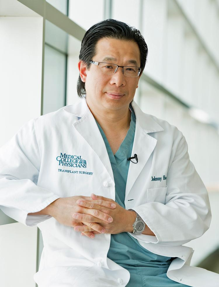 "Dr. Johnny Hong...""I think this is a very, very rewarding profession. You get to see the goodness of human nature every day."""