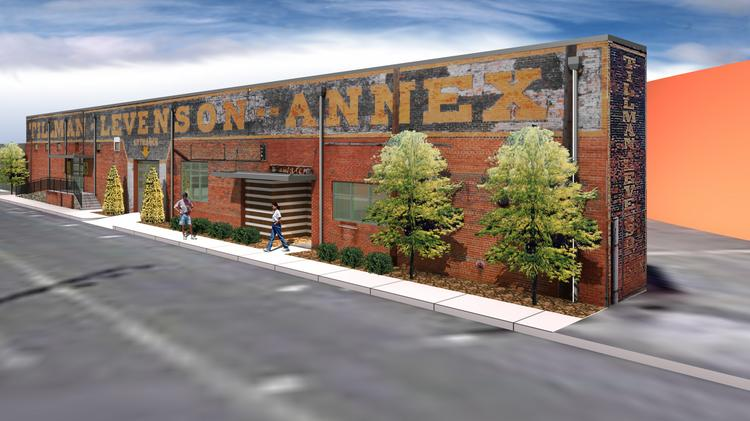 Brad Wardlaw, owner of the Tillman-Levenson Annex warehouse downtown, is planning to lease space to a coffee roaster and a food truck kitchen.