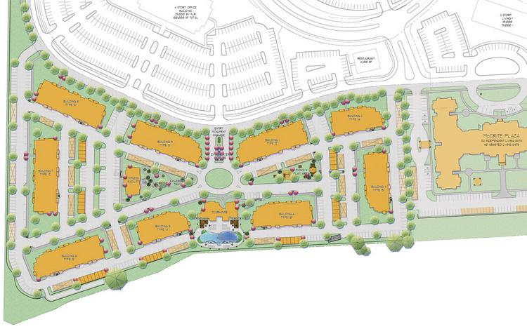 Briarcliff Riverfront Apartments' site plan