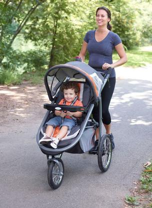 The FastAction Fold Jogger Click Connect.